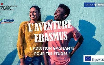 ERASMUS : Une ouverture supplémentaire à l'internationale
